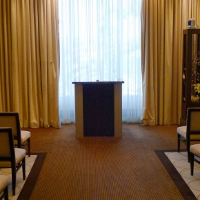 One of Mandalay Bay's wedding chapels. Photo: Little Vegas Wedding