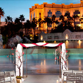 mandalay bay beach pool wedding venue