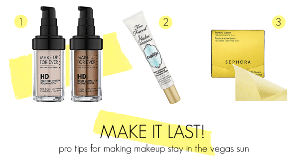 The secret to making makeup last on hot summer shoots
