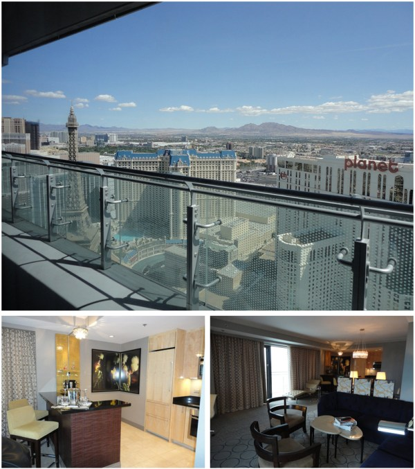 Where to host your in suite vegas reception for Terrace suite cosmopolitan