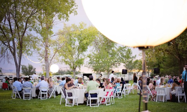 Rustic Outdoor Vegas Wedding   Photo by Weddings by Scott and Da