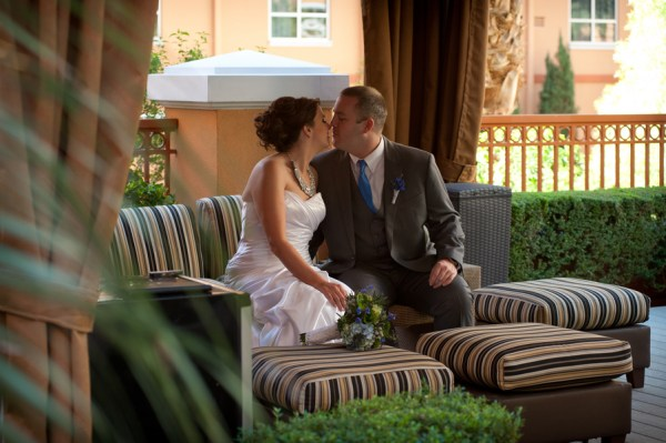 Rooftop Wedding at Platinum Hotel, Las Vegas| Brilliant Imagery