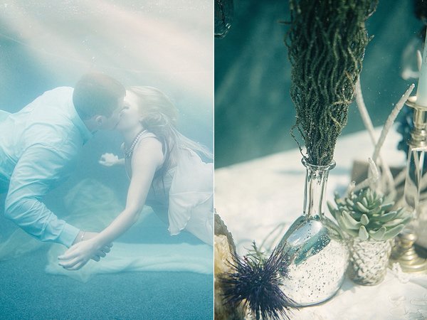 Unusual Underwater Wedding