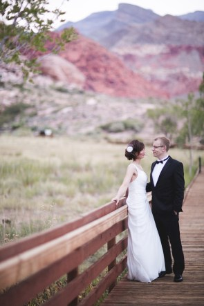 Calico Basin Wedding by The Amberlight Collective | Little Vegas Wedding