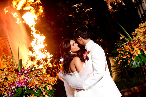 Mirage Volcano | Little Vegas Wedding Venue Guide