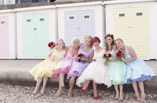 Retro Wedding by Haywood Jones Photography via Rock n Roll Bride