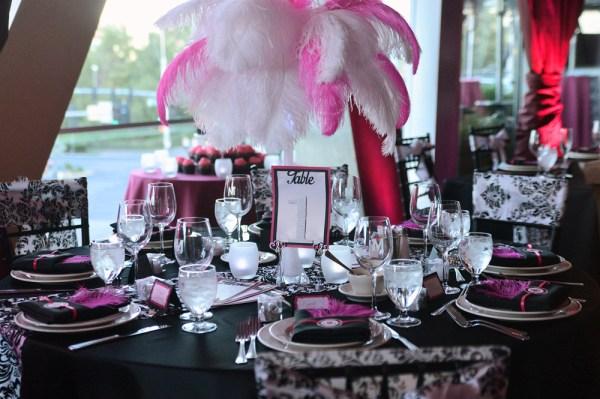 Maggianos Restaurant Wedding Reception Little Vegas