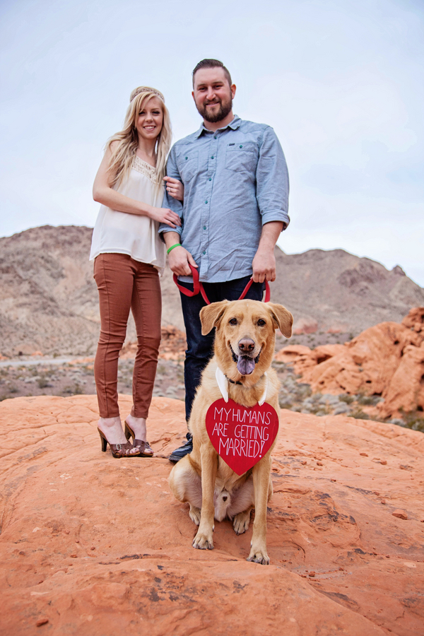 Red Rock Engagement   Jenna Ebert Photography on Little Vegas Wedding