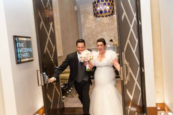 MGM Grand Skyline Wedding Reception | Little Vegas Wedding