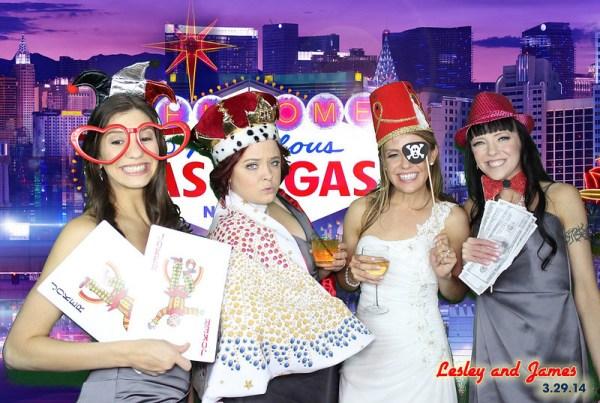 Joy Squad Las Vegas Photobooth | Little Vegas Wedding