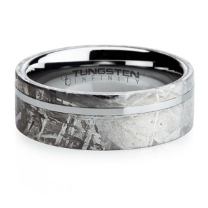 Meteorite Wedding Ring  | 28 Unique Wedding Rings for Men