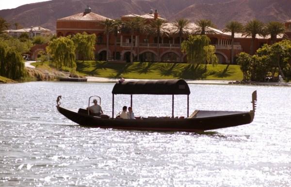 Gondola   | Unique Las Vegas Wedding Transportation | Little Vegas Wedding