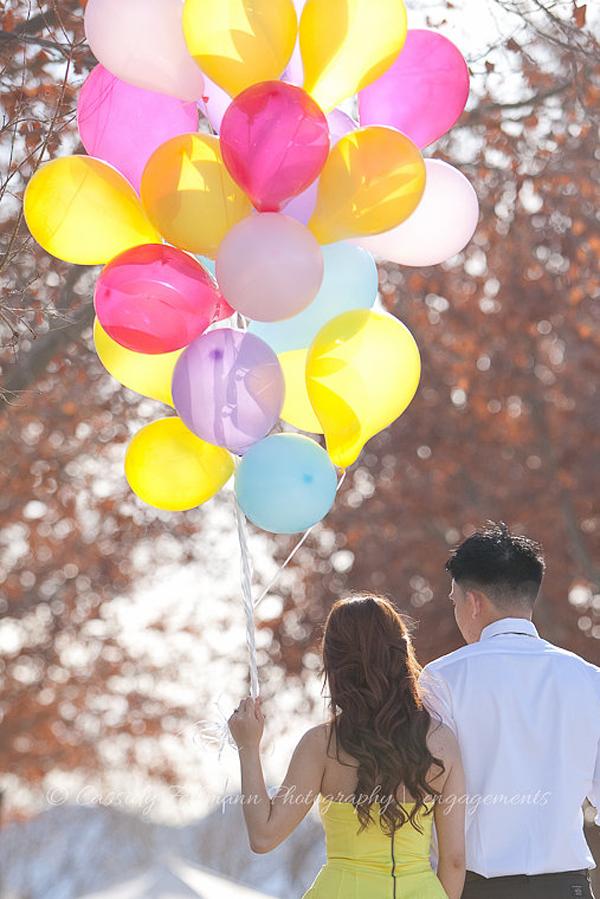 Up Themed Engagement | Little Vegas Wedding
