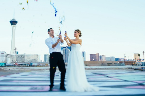 Vibrant Downtown Las Vegas Wedding | Little Vegas Wedding