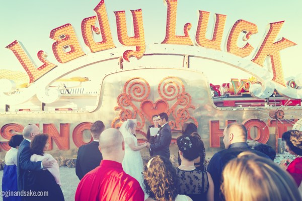 Neon Museum Wedding | Little Vegas Wedding