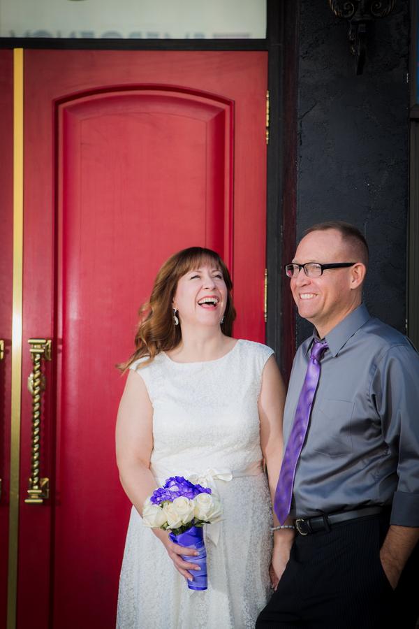 Downtown Vegas Elopement   Little Vegas Wedding