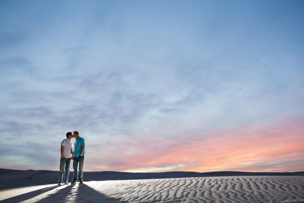 Sand Dunes Wedding Shoot | Little Vegas Wedding