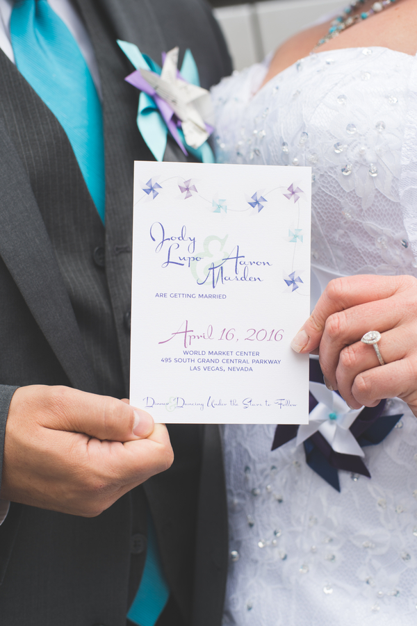 Pinwheel Wedding Inspiration | Little Vegas Wedding