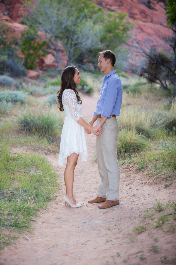 Red Rock Elopement | Little Vegas Wedding