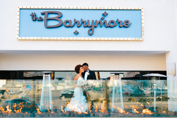 Retro Wedding at The Barrymore | Little Vegas Wedding