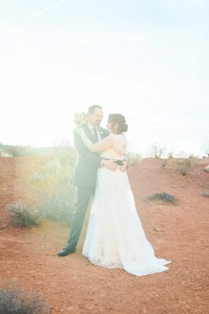 Magical Desert Elopement | Little Vegas Wedding