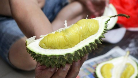 Would you eat this notoriously smelly fruit on a pizza? (Photo: Jeng Shin/Flickr.)