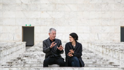 Anthony Bourdain and Asia Argento in Parts Unknown