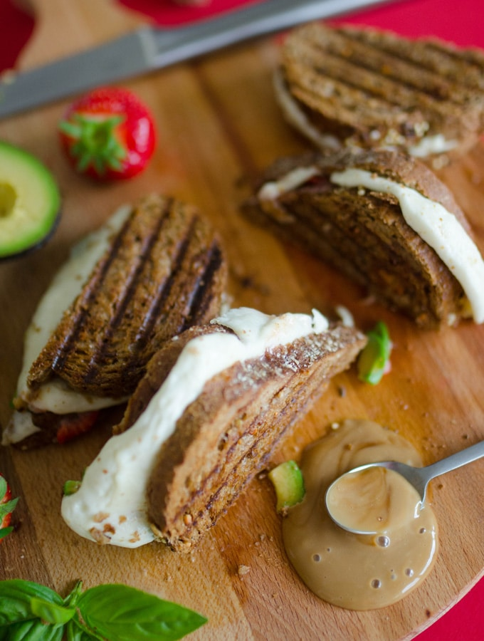 Strawberry Avocado Grilled Cheese | Live Eat Learn
