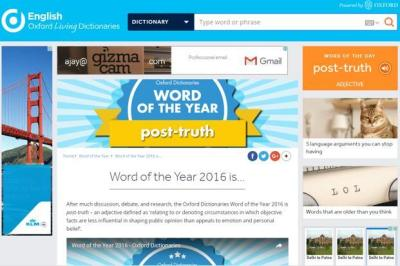 Post truth named word of the year by Oxford Dictionaries - Livemint