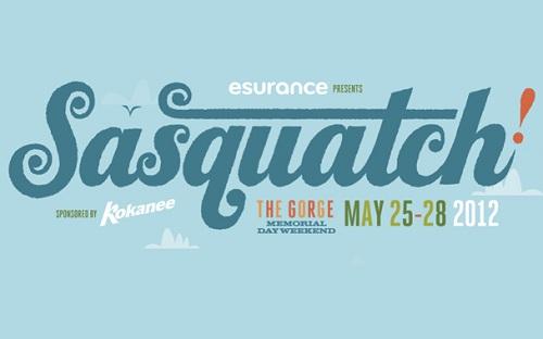 Sasquatch 2012 logo