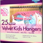Closet Complete Kids Size Ultra Thin No Slip Velvet Hangers