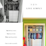 1-2-3 Live Simply! A Little Boy's Closet Gets A Makeover