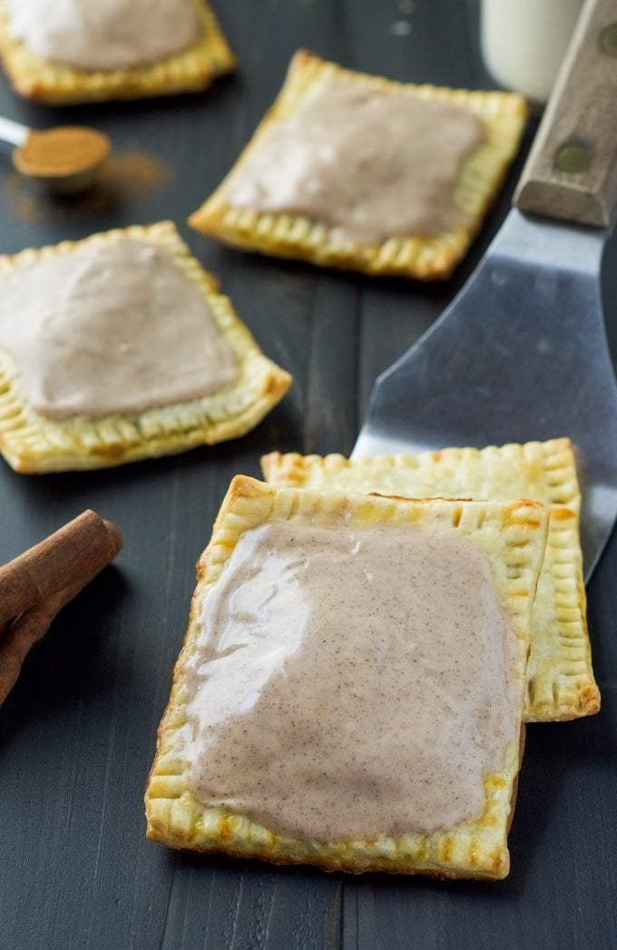 Easy Pumpkin Brown Sugar Cinnamon Pop Tarts