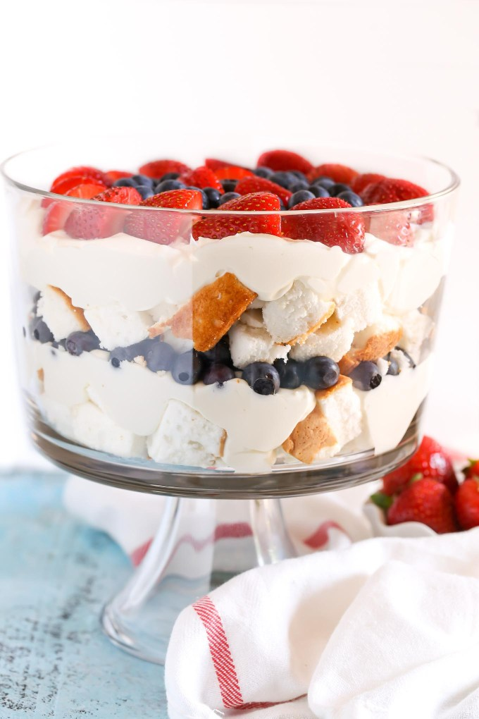 No Bake Berry Cheesecake Trifle Live Well Bake Often
