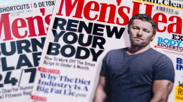 Mens Health Covers