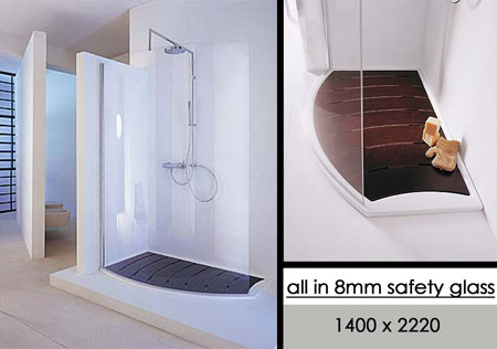 Beautiful Curved Shower Enclosures Uk Open Curve Walk In And Inspiration Decorating