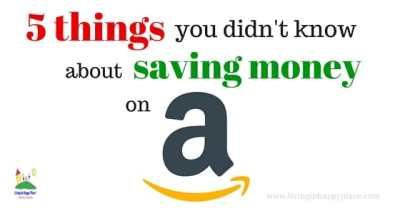 5 Things you didn't know about saving money on Amazon