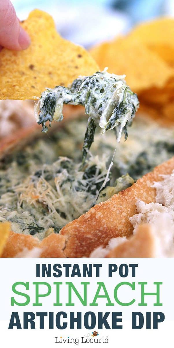 Nice Spinach Dip Baked Only Easy Instant Pot Pressure Cookerrecipe When You Instant Pot Spinach Dip Recipe Minute Pressure Cooker Appetizer Spinach Dip Tree Video Spinach Dip Tree Crescent Rolls nice food Spinach Dip Christmas Tree