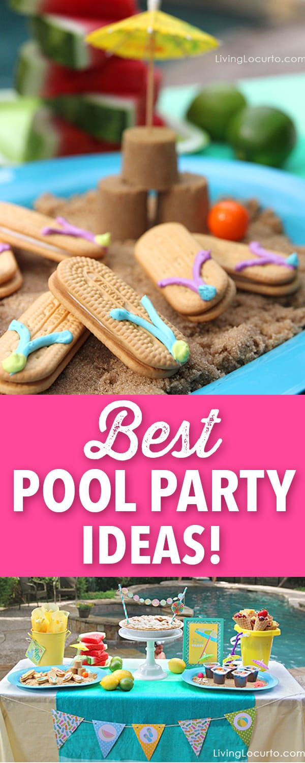 Startling 16th Birthday Party Ideas Games Sun Party Party Ideas Summer Flip Flop Cookies Party Ideas ideas Pool Party Ideas
