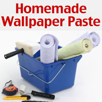 Homemade wallpaper paste recipe
