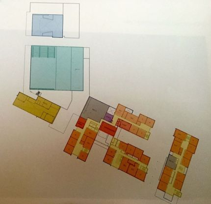 Schematic of MSHS 3rd level