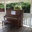 What's that Piano doing in the Park? New idea from Snoqualmie Parks Dept.