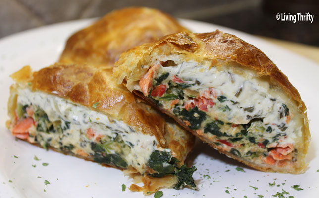 Paleo Stuffed Fish in Puff Pastry