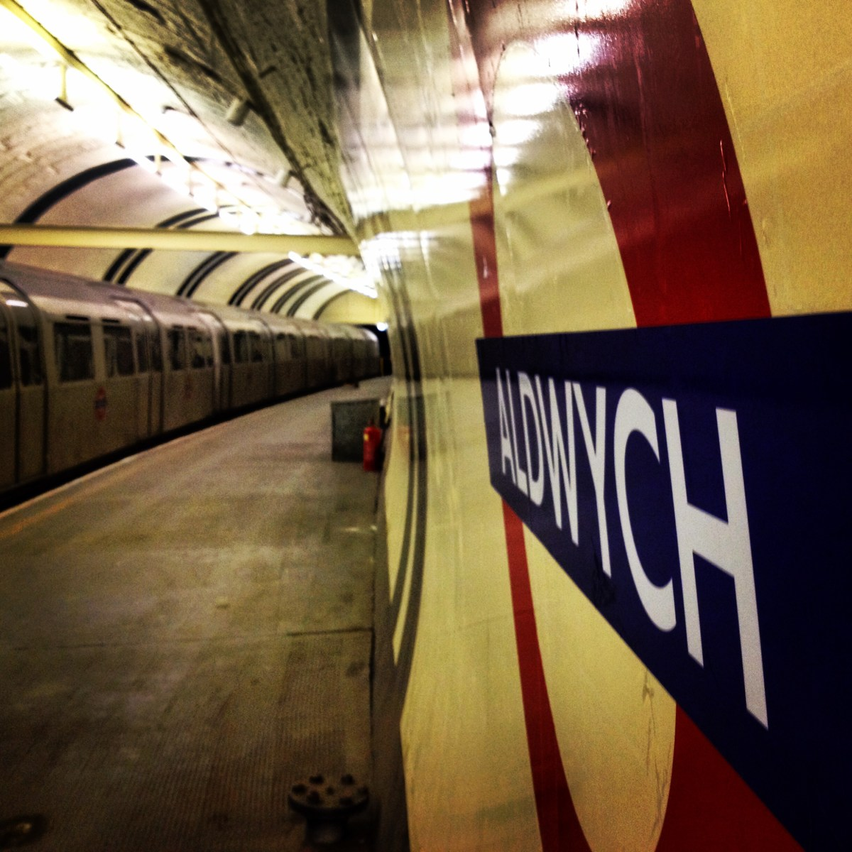 Adventuring underground at Aldwych