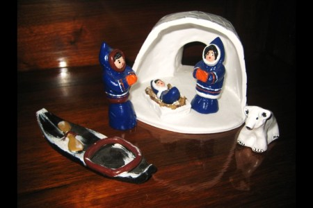 Inuit Nativity