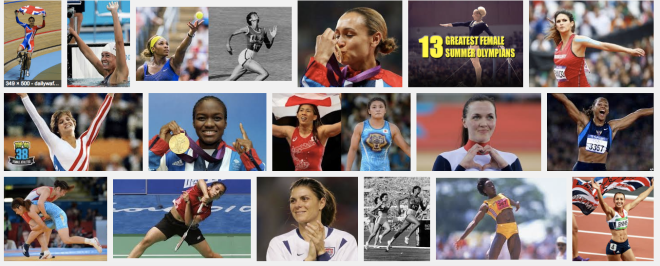 Great Olympic women...