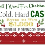 Christmas Cash Giveaway win $1,000