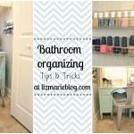 Master Bathroom Organizing Ideas