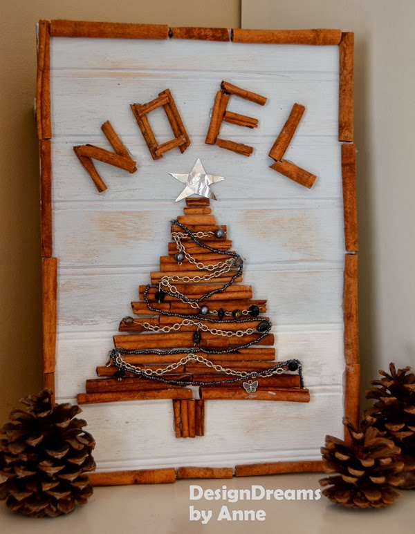 Cinnamon Twig Christmas Tree