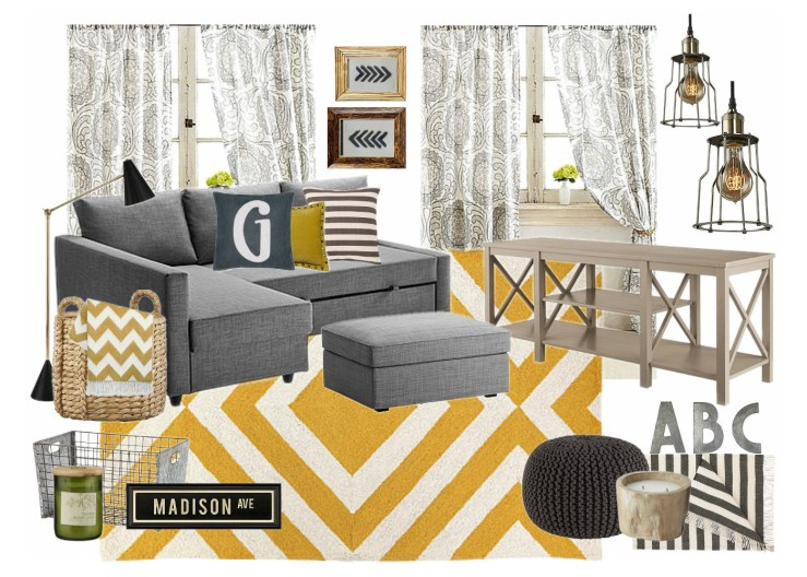 OB-YellowGray Industrial Media Room